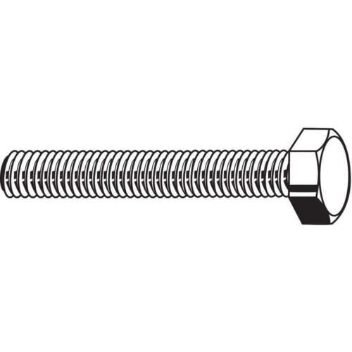 FABORY U04360.037.0062 HHCS,3//8-24x5//8,Steel,Gr 8,YZ,PK50