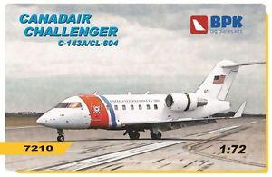 BPK 7210 - 1/72 - Canadair Challenger C-143A/CL-604 Big Planes Plastic Model Kit
