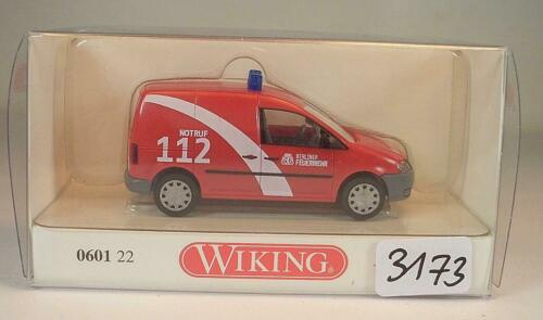0601 22 VW Caddy II Berliner Feuerwehr OVP #3173 Wiking 1//87 Nr