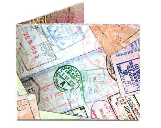 Passport Stamps Mighty Wallet