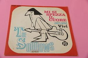 SOLO-ABDECKUNG-SORROWS-7-034-ICH-SI-PAUSEN-DAS-HERZ-ORIG-ITALY-1966-EX