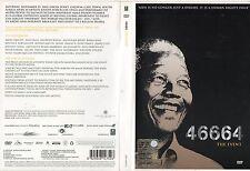 NELSON MANDELA THE EVENT 46664 BEYONCE PETER GABRIEL QUEEN ZUCCHERO 2 DVD SET