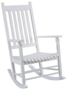 Image Is Loading NEW SEASONAL TRENDS KN28W CLASSIC WHITE WOODEN PORCH