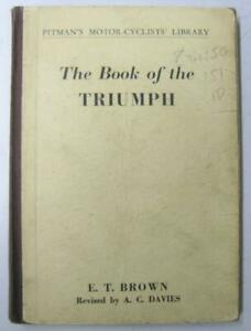 TRIUMPH-1935-49-Pitmans-Motorcycle-Owners-Handbook-8th-Edition-E1-T-5302