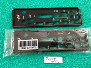 Asus Io Shield For Asus Rog Strix Z270e Gaming Rog Strix Z270 F Gaming 600136390015 Ebay