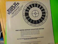 "Rare 1981 RUSH ""Rush 'N' Roulette"" Limited Edition Promo Rock LP MK 185 Mercury"