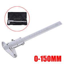 Mini Vernier Caliper 6150mm Gauge Pocket Stainless Steel Metric Machinist Tool