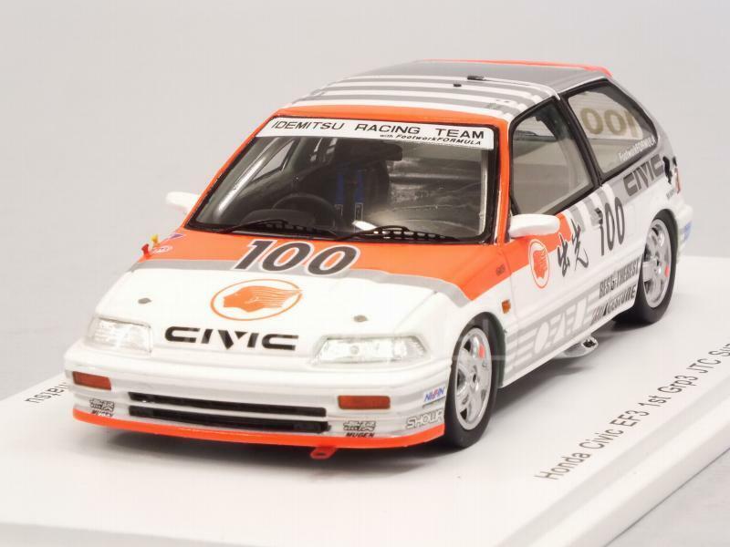 Honda Civic EF3 Winner Grp.3 JTC Suzuka 1989 Katayama - Mu 1 43 SPARK S5455