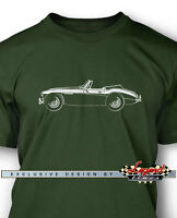 Austin Healey 3000 Mkiii Convertible Men T-shirt - Multiple Colors And Sizes