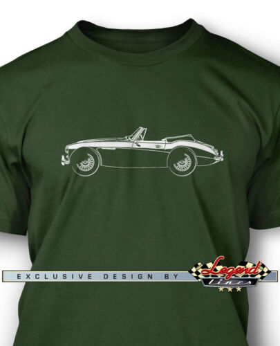 Multiple Colors and Sizes Austin Healey 3000 MKIII Convertible T-Shirt for Men