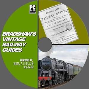 BRADSHAWS-RAILWAY-GUIDES-114-VINTAGE-BOOKS-RAIL-HISTORY-ROUTES-STEAM-TRAINS-DVD