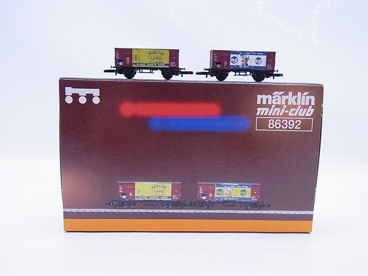 44780   Bella   Traccia Z 86392 carri merci-Set miracolo economico in scatola originale