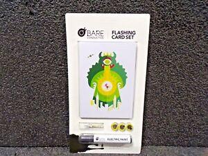 Bare Conductive Flashing Card Set Conductive Encounters