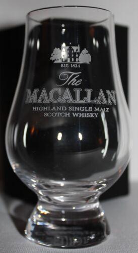 MACALLAN GLENCAIRN WHISKY TASTING GLASS W// BLACK /& GOLD PRESENTATION BOX