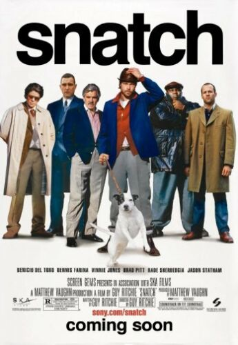 Snatch Movie Poster 11x17 Mini Poster 28cm x43cm