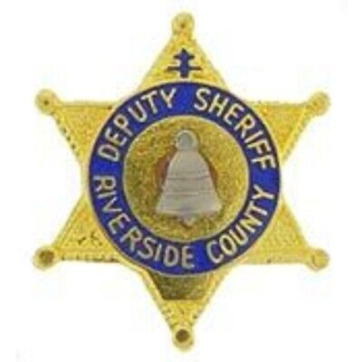 RALEIGH COUNTY DEPUTY  SHERIFF POLICE LAPEL BADGE PIN