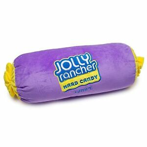 Jolly-Rancher-Embroidered-Plush-Pillow-Grape-Cylinder-Body-Pillow-Licensed