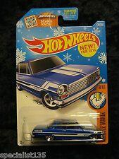 2016 Hot Wheels '63 Chevy II Target Exclusive Snowflake Card HTF!