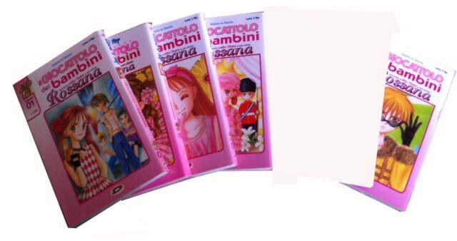 Rossana-il giocattolo dei bambini n°1-2-3-4-7 edizione 2006
