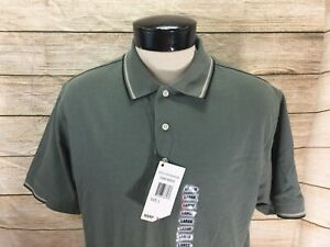 New-Vintage-Perry-Ellis-America-Polo-Shirt-Men-039-s-Large-Green-NWT