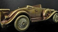 Vintage 1930s Cadillac 1 24 Sport Race GT Car Rare Metal Model 18 Carousel Gold