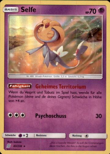 Pokemon 83//236 Bund der Gleichgesinnten Selfe