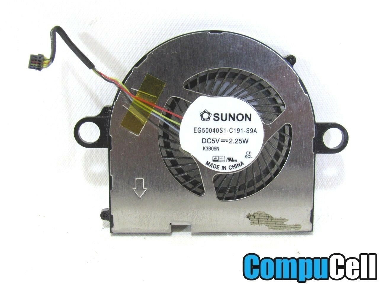 GENUINE OEM Lenovo IdeaPad Yoga 11 20246 CPU Cooling Fan With Cable EG50040S1