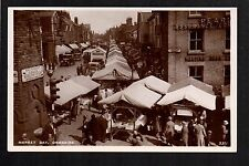 Ormskirk - Market Day - real photographic postcard