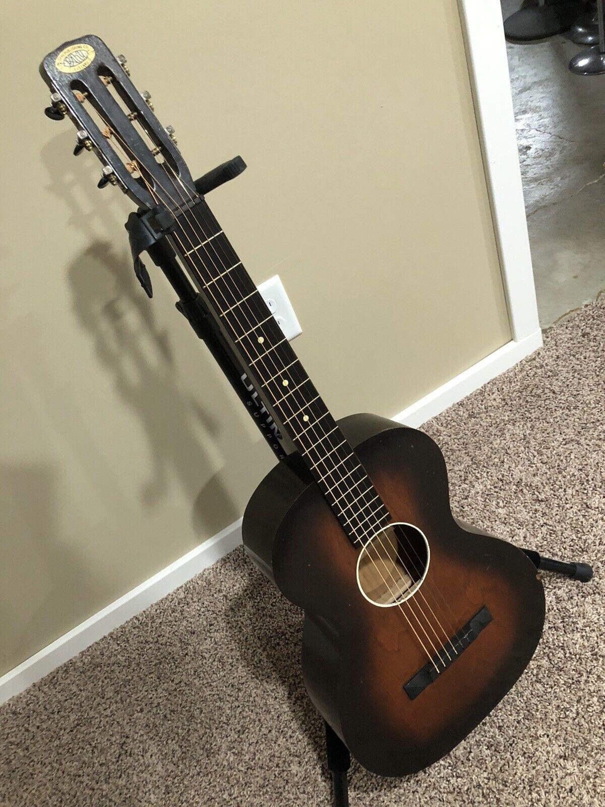 30's 40's Vintage Oahu Cleveland Ohio Square Nackt Slide Gitarre Harmony Original