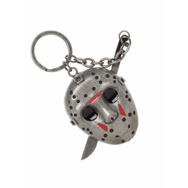 FRIDAY THE 13TH Jason Voorhees 3-D Keychain