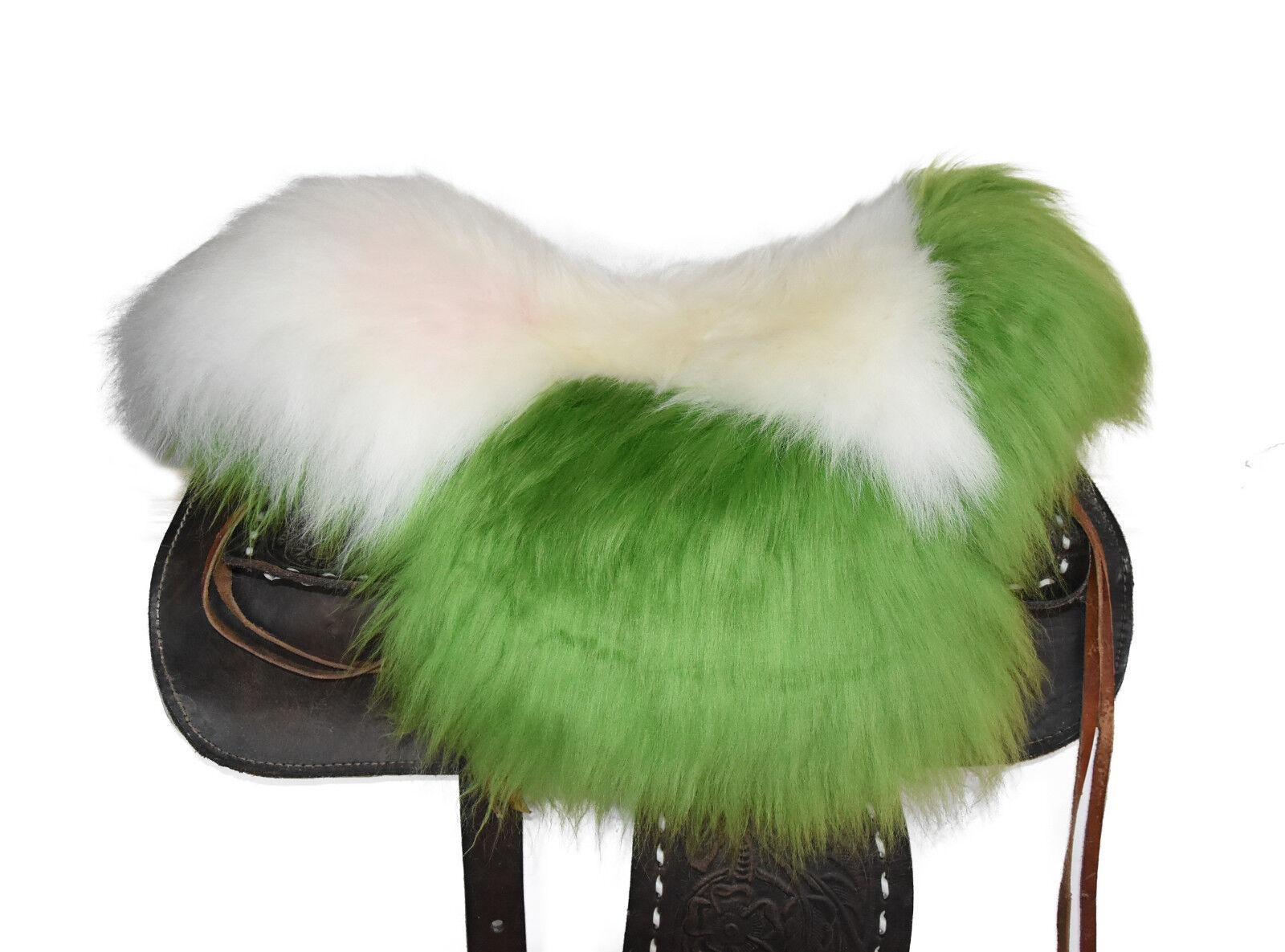Agnello SELLA EDIZIONE Western Sella Lammfell riferimento saddle pad SEAT saver s341