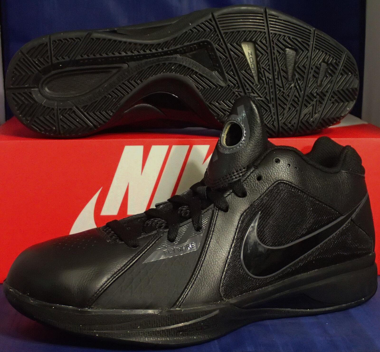 2010 Probe Nike Zoom Kd III 3 Schwarz Dunkelgrau Kevin Durant Sz 9 (417279-002)