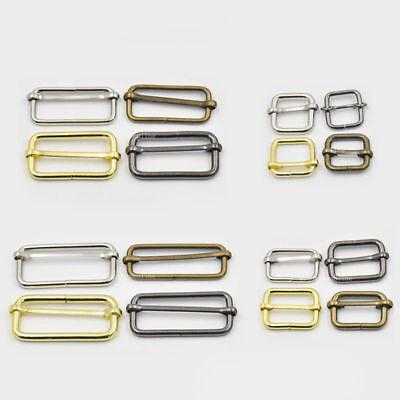 """3//4/"""" 19mm Metal Triglides Slide for Adjustable webbing belt purse Dee ring Snap"""