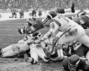 DAVE-OSBORN-Minnesota-Vikings-Photo-Picture-FOOTBALL-1969-Vintage-Print-8x10