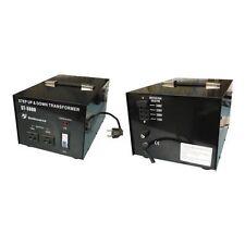 TRASFORMATORE CONVERTITORE PROFESSIONALE 5000W DA 220 A 110V ADATTATORE 230V 120