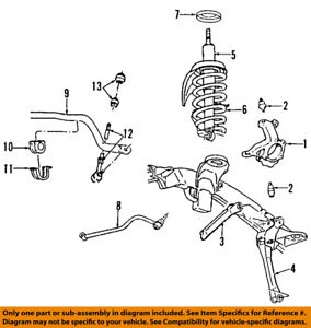 s l300 dodge chrysler oem 03 05 ram 2500 front suspension shock absorber
