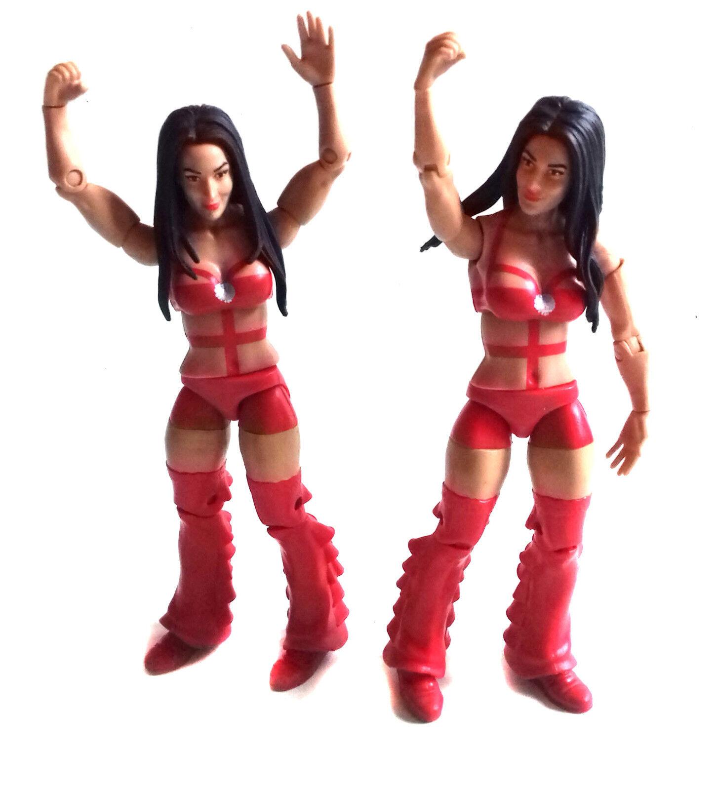 WWF WWE TNA Wrestling Brie and Nikki Bella Mattel Elite Elite Elite  6  toy figures RARE 0bcb14