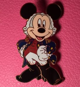DISNEY PIN - MICKEY MOUSE as GEORGE WASHINGTON President's Day 2006 LE 250 - New