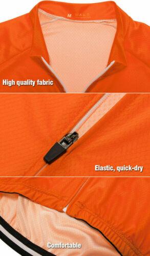 Cycling Jersey Short Sleeve Bike Riding Shirt MTB Jacket Clothing Black Top 2021