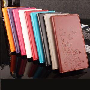 Funda-libro-flip-piel-sintetica-tapa-flores-para-ZTE-Blade-S6-Q5-Q5-T