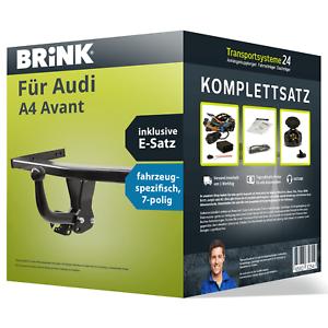 Anhängerkupplung BRINK starr für AUDI A4 Avant E-Satz NEU AHK