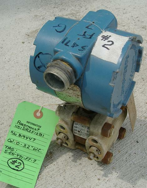 pinkmount 1151DR2F12 Draft Range Pressure Transmitter