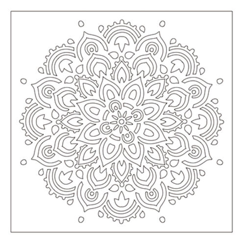 Plastic Stencil DIY Scrapbooking Embossing Paper Cards Handmade Crafts Templates