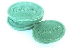 3-Original-Chandrika-Soap-Cleanses-Aura-100-Vegetarian-Ayurvedic-India-D011