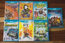 Nintendo Wii U Game LOT - Funky Barn, Transformers Prime, Pikmin 3, SEALED RARES