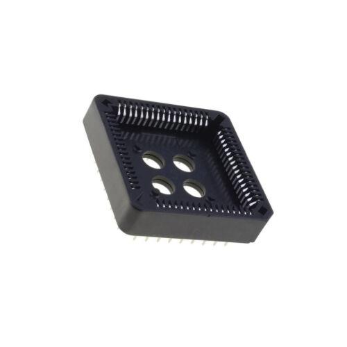 2x PLCC-68-AT Sockel PLCC PIN 68 Phosphorbronze 1A Thermoplast UL94V-0 ADAM TECH