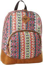 NWT Roxy Fairness Fandango Pink  Faux Suede Backpack School Bag NEW