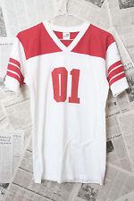 Vintage 80's Datastream Football Mean Stream Machine 01 Size S/M T-Shirt Usa