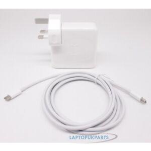 Détails sur 65W Apple Usb C Puissance Adaptateur Chargeur Macbook Pro Touch BAR A1706A1708