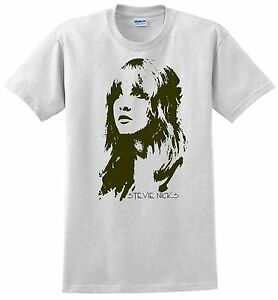 53a862daa Stevie Nicks T-shirt. Gray,White, Green, Blue,Sand, Yellow. Size ...